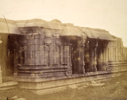 Façade of the Pattabhirama Temple, near Kamalapuram, Vijayanagara